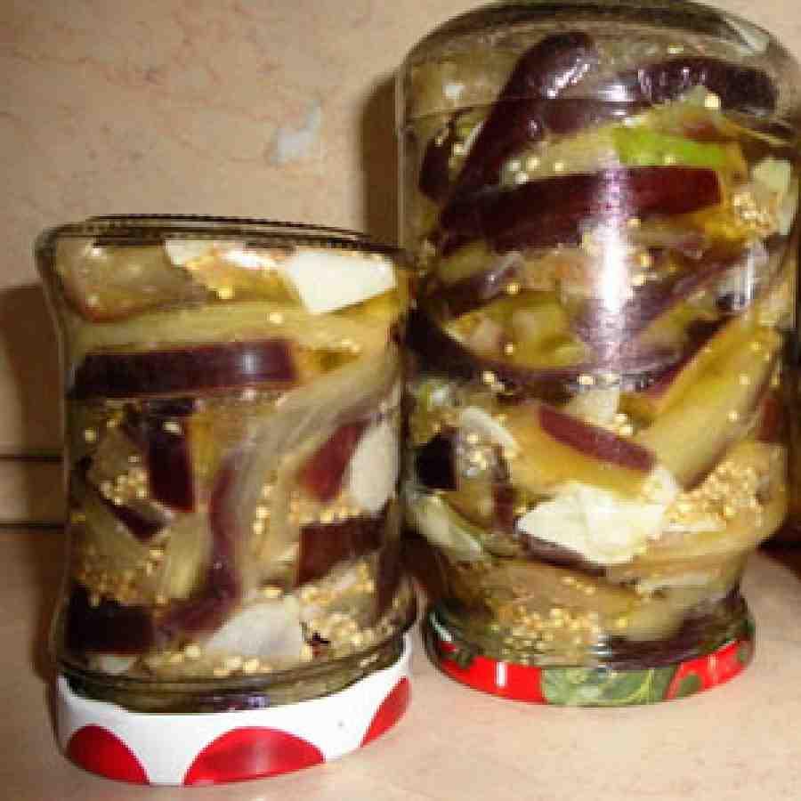Рецепт заготовки из баклажан рецепт
